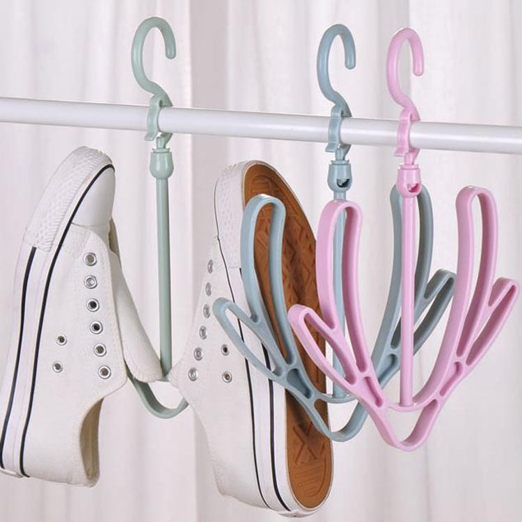 Shoes Drying Rack Clothes Storage Wardrobe Shelf Drying Rack Wall Hanger - honeylives