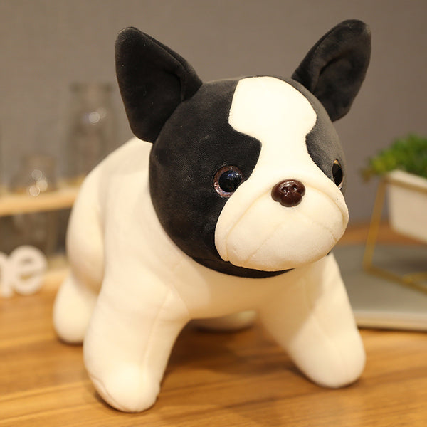 Cute Bulldog Plush Doll Stuffed French Bulldog Plush Toys for Kids Puppy Gift - honeylives