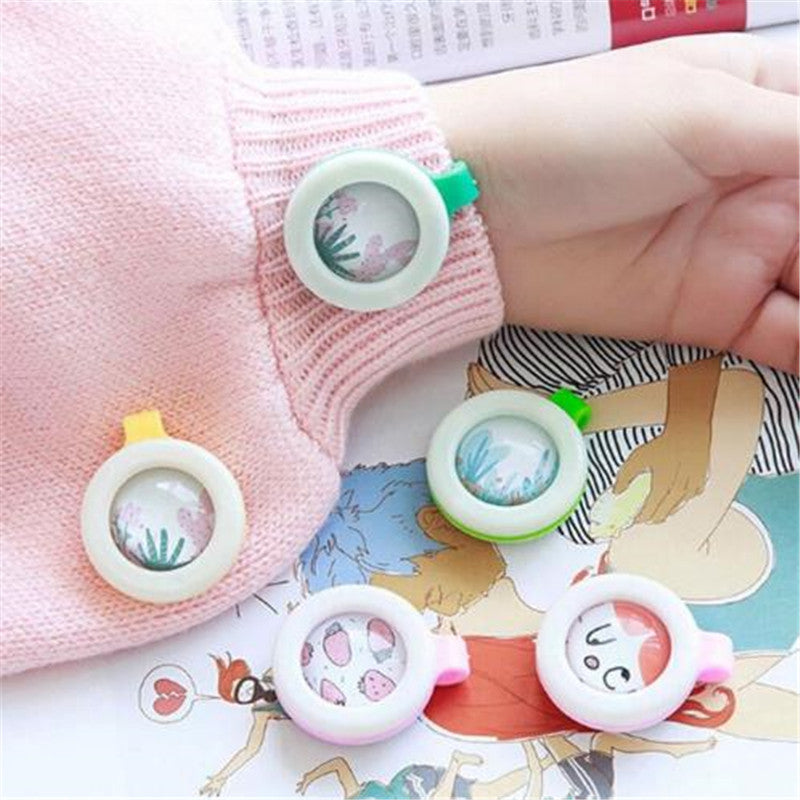 Child Baby Summer Mosquito Insect Repellent Anti Mosquito Pest Control Buttons - honeylives