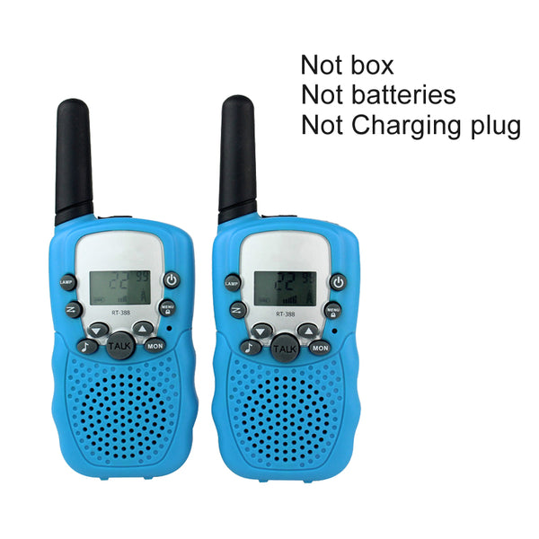 Walkie Talkie Toys For Children 0.5W 22CH Two Way Kids Radio 2 Pcs= 1 Pair - honeylives