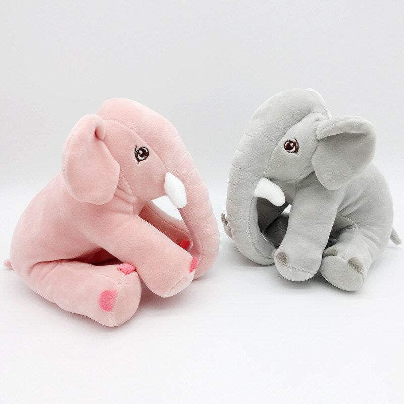 Baby Cute Elephant Plush Stuffed Toy Doll Soft Animal Plush Toy 20cm - honeylives