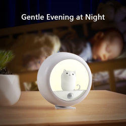 New Creative Induction Night Light Pet Lamp USB Hanging Lamp Baby Sleeping - honeylives