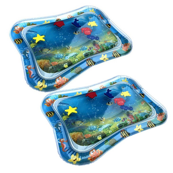Infant Kids Water Game Pad Inflatable Outdoor Thickening PVC Fun Activity Game Water Play - honeylives
