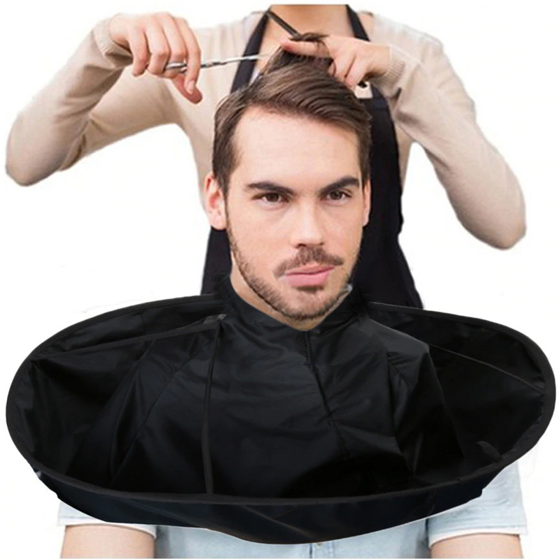 DIY Hair Cutting Cloak Cape Salon Barber Salon Using Hair Cutting Cloak - honeylives
