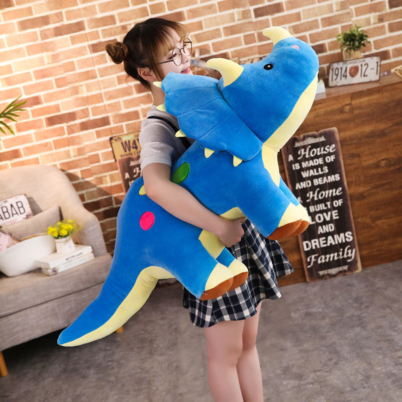 Creative Dinosaurs Big Soft Triceratops Stegosaurus Plush Toy Dinosaur Doll - honeylives