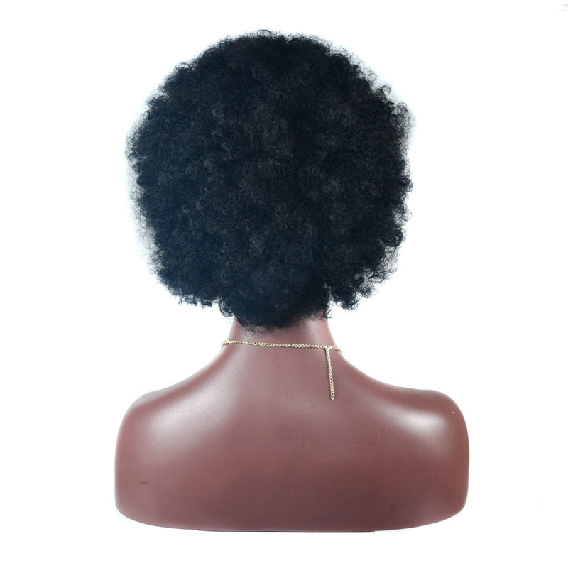 Practical Wig Head Set Source Microwave Coil Explosion  Fluffy Curl