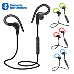 Bluetooth Earphone Sports Wireless Headphone Headset Bass Earbuds For Phone - honeylives