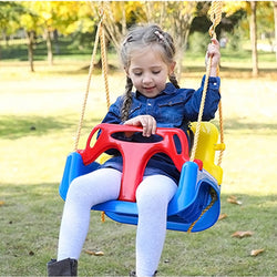 Kids Baby Swing Hanging Chair Garden Swing Seat Outdoor Toy Swings For Fun - honeylives