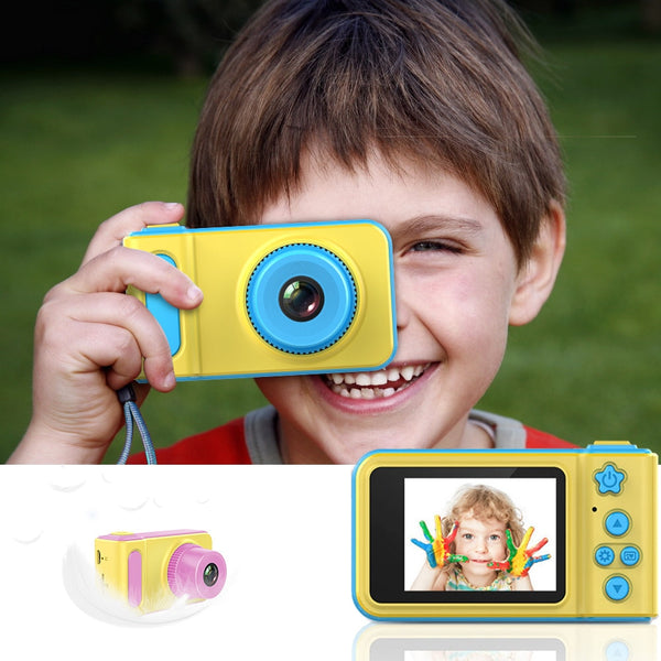 Kids Digital Camera 1080p HD 2Inch Large Screen Birthday Gift Educational Toy - honeylives