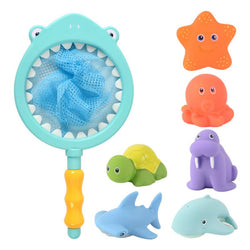 Kids Bath Fish Animals Toys Temperature-sensitive Color-changing Water Bath Toys - honeylives