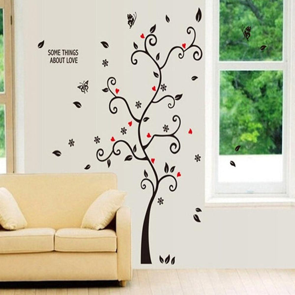Home Diy Family Photo Frame Tree Wall Art Sticker Decor