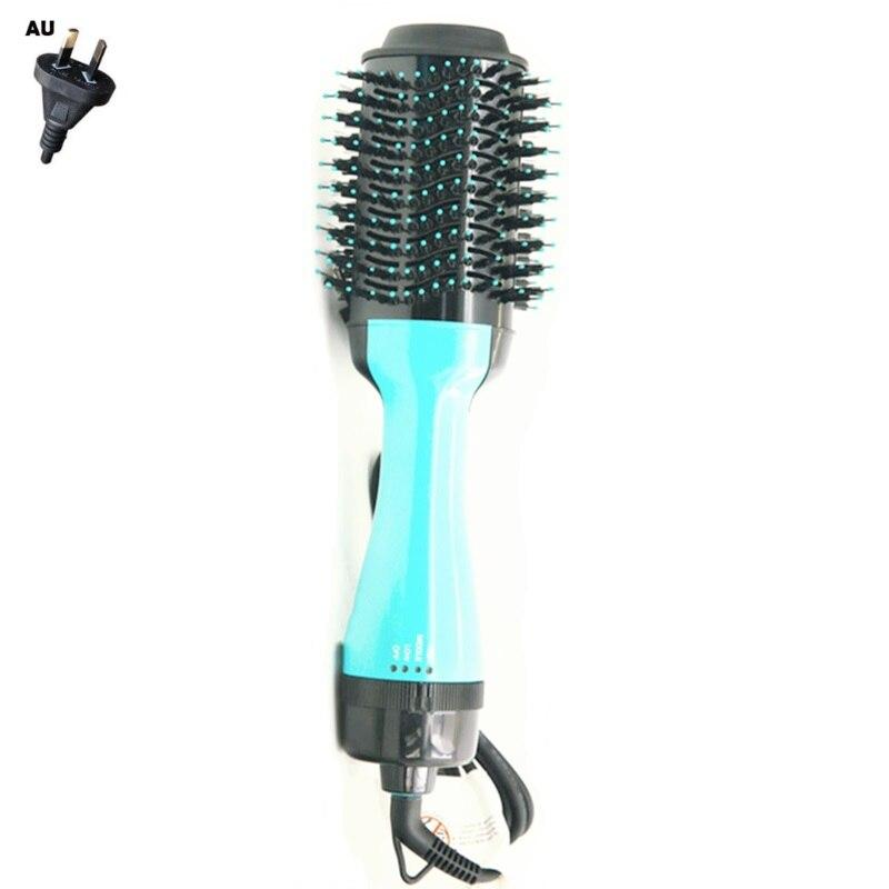 Air Brush Roller Negative Ion Straight Hair Electric Dryer Straightener