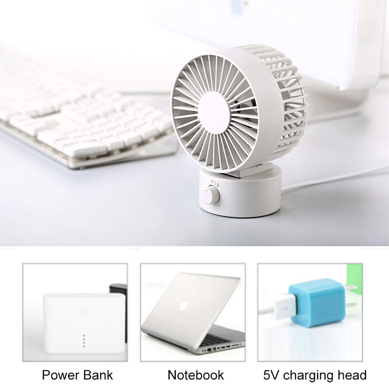 New Mini Air Circulation Fan 180 Degree Rotation 330 Strong Wind Power - honeylives