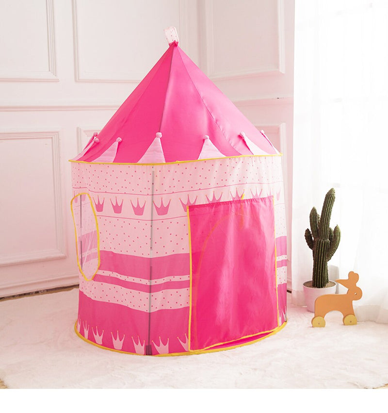 Children's Tent Portable Foldable Ball Pool Tipi Tent Castle Play House - honeylives