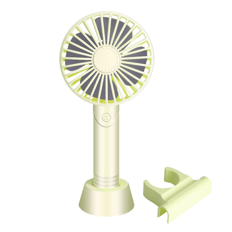 Handheld  Mini Fan USB Rechargeable Portable Fan Cooler With Mobile Pendable - honeylives