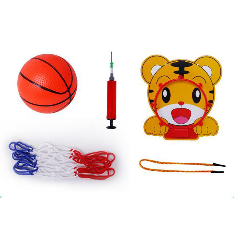 Hanging Cartoon Basketball Board Basketball Frame Indoor Toys - honeylives