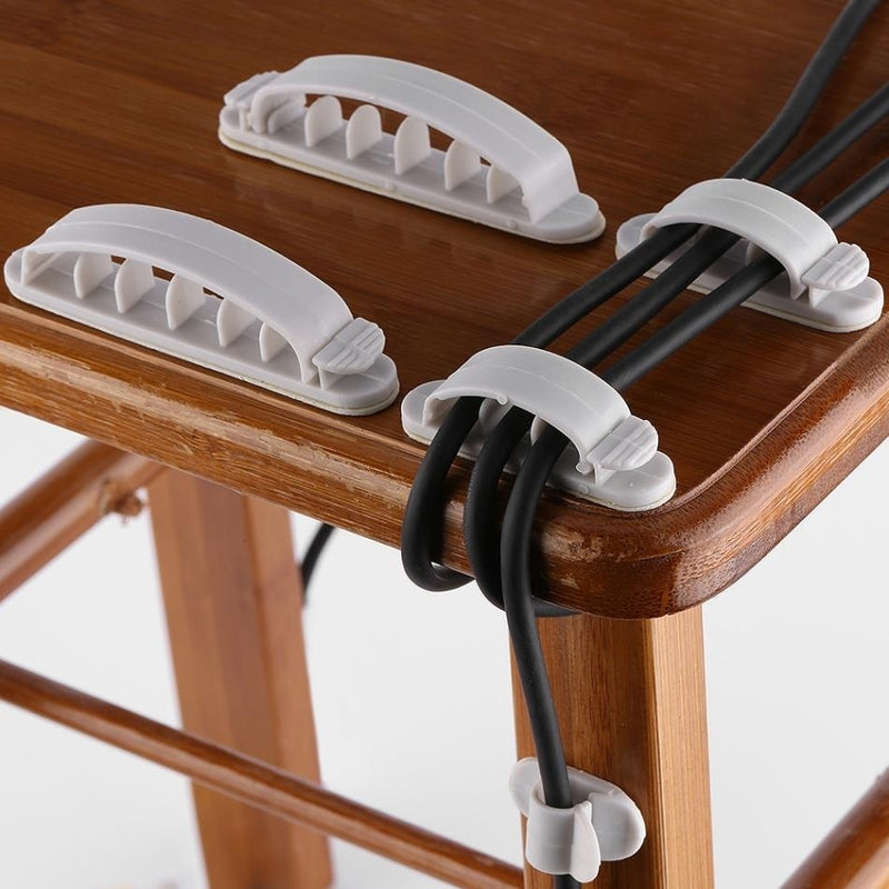 10pcs Cable Organizer Wire Storage