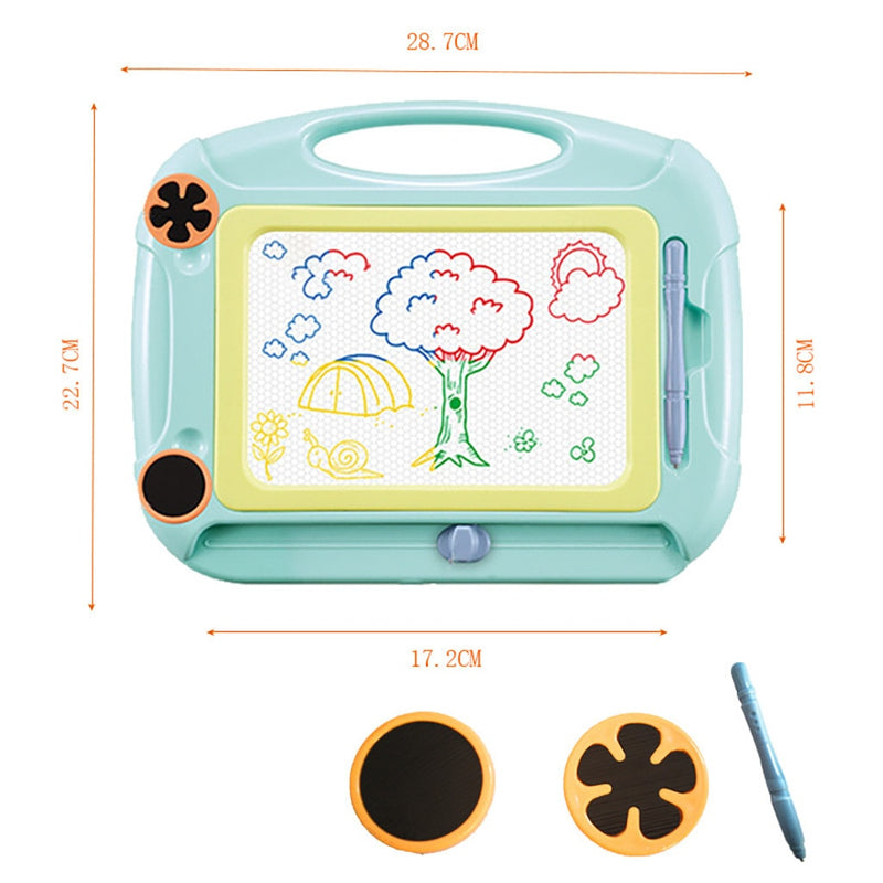 Magnetic Drawing Board Toys Kids Craft Painting Board Educational Toys - honeylives