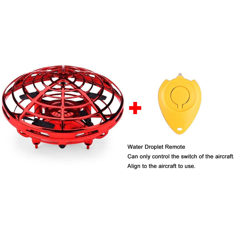 Kids Mini Drone UFO RC Helicopter Infrared Induction Aircraft Flying Ball - honeylives