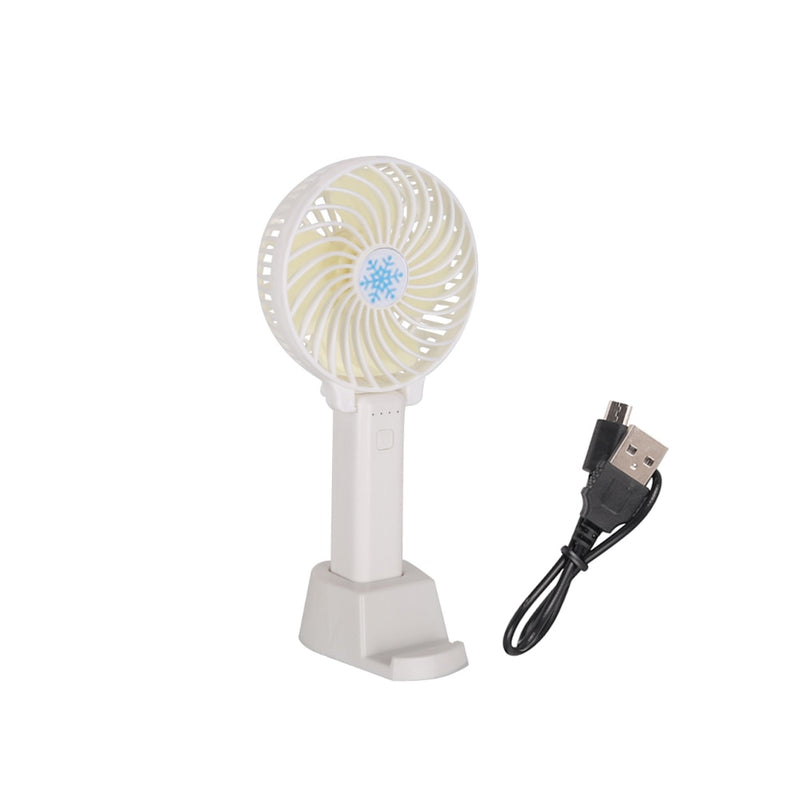 Mini Handheld Fan Cooler USB Charging Rechargeable Outdoor Fan - honeylives