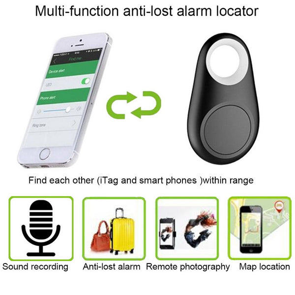 Mini Smart Alarm Device Bluetooth Tracker Locator GPS Pets Locator Realtime Finder - honeylives