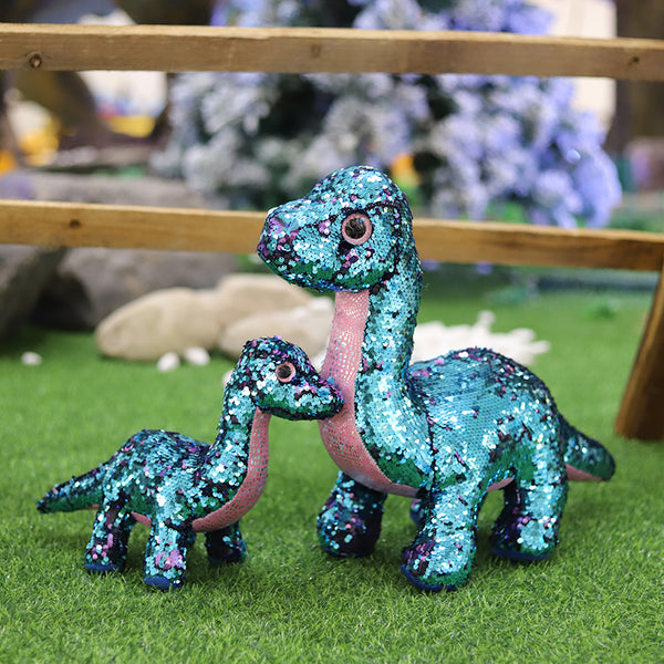 Big Eyes Tremor Dinosaur Space Animals Kids Plush Toys For Kids Gifts - honeylives