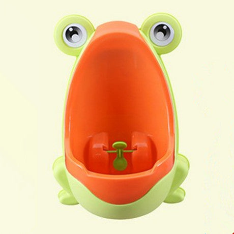 Baby Boy Potty Toilet Training Frog Boys Pee Wall-Mounted Vertical Urinal - honeylives