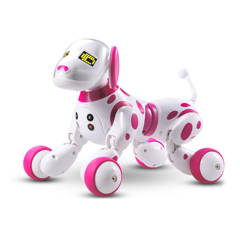 Programable 2.4G Wireless Smart Animals Robot Dog  Remote Control Toys - honeylives