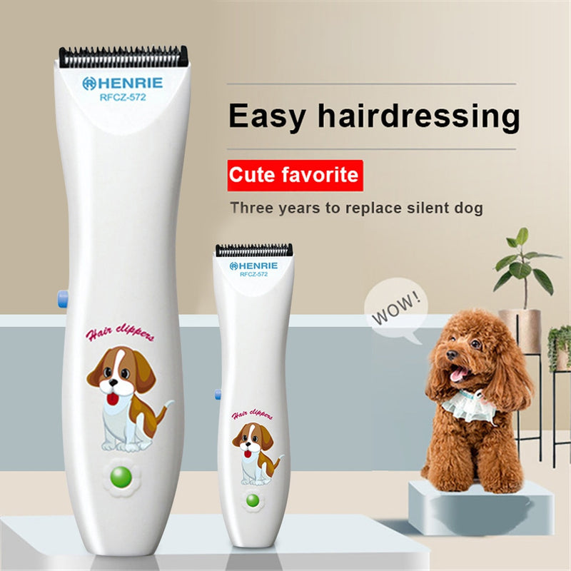 Pet Dog Hair Trimmer Grooming Clippers Cutter Remover Haircut Machine - honeylives