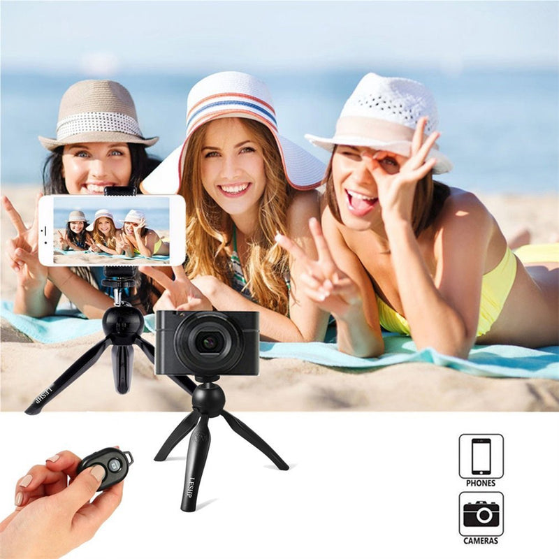 Tabletop Selfie Stick Monopod with Remote & Tripod Stand for iPhone and iPad - honeylives