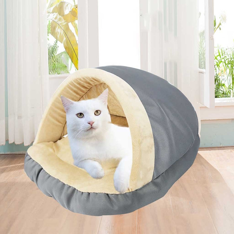 Pet Cat Dogs Puppy Kennel Bed Kitten Cave Sleeping Bed Cushion Soft Puppy House - honeylives