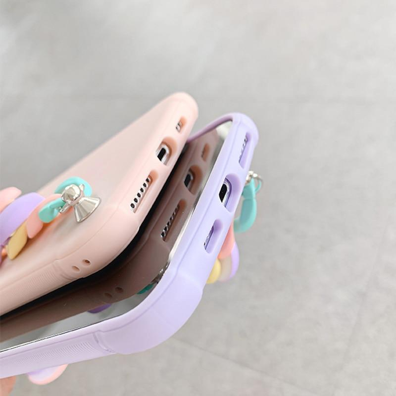 Candy Color Chain Case