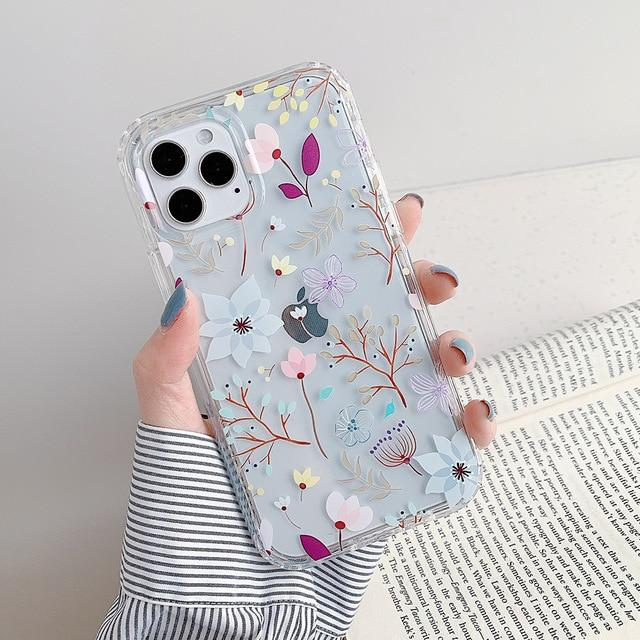 Flowers And Butterflies Case