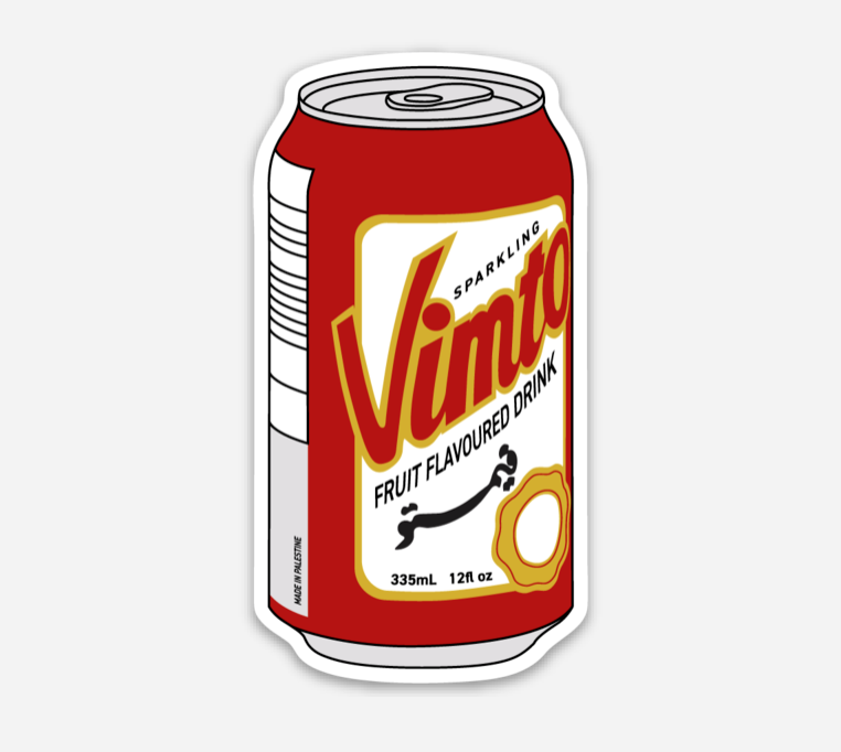 Vimto Sticker
