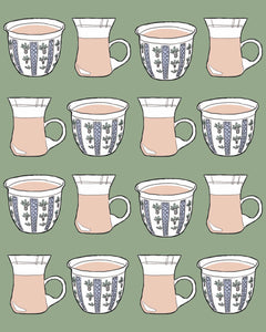 "Palestinian ""Coffee and Tea"" Print"