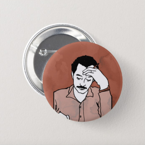 Ghassan Kanafani Button Pin