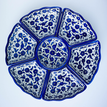 Load image into Gallery viewer, Hand-Painted Khalili Ceramic Combination Tray (Colorful)