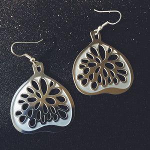 Palestinian Fig Earrings (Stainless Steel)