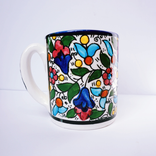 Hand-Painted Khalili Ceramic Mug
