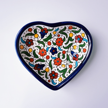 Load image into Gallery viewer, Hand-Painted Khalili Heart Ceramic Bowl