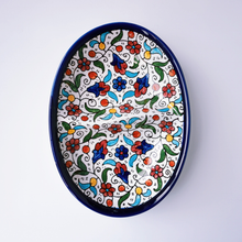 Load image into Gallery viewer, Hand-Painted Khalili Ceramic Half Split Plate