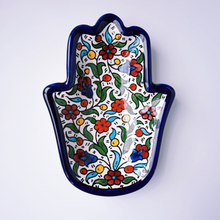 Load image into Gallery viewer, Hand-Painted Khalili Ceramic Hand Plate