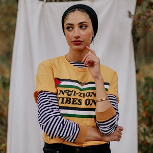 "Vintage ""Anti-Zionist Vibes Only"" Palestine T-Shirt"