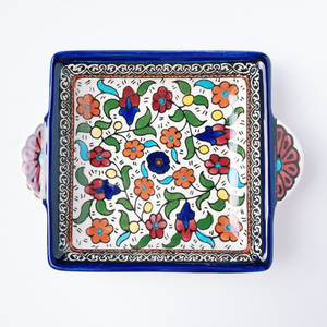 Hand-Painted Khalili Ceramic Jewelry Mini Tray