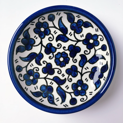 Hand-Painted Khalili Small Ring Plate