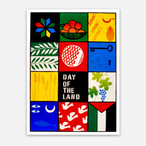 """Day of the Land"" Sticker"