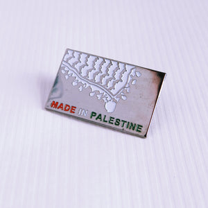 """Made in Palestine"" Pin"
