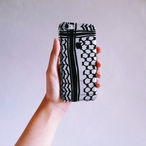 The Kuffiyeh Phonecase (Black)