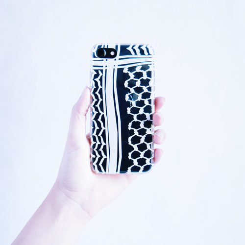 The Kuffiyeh Phonecase (White)