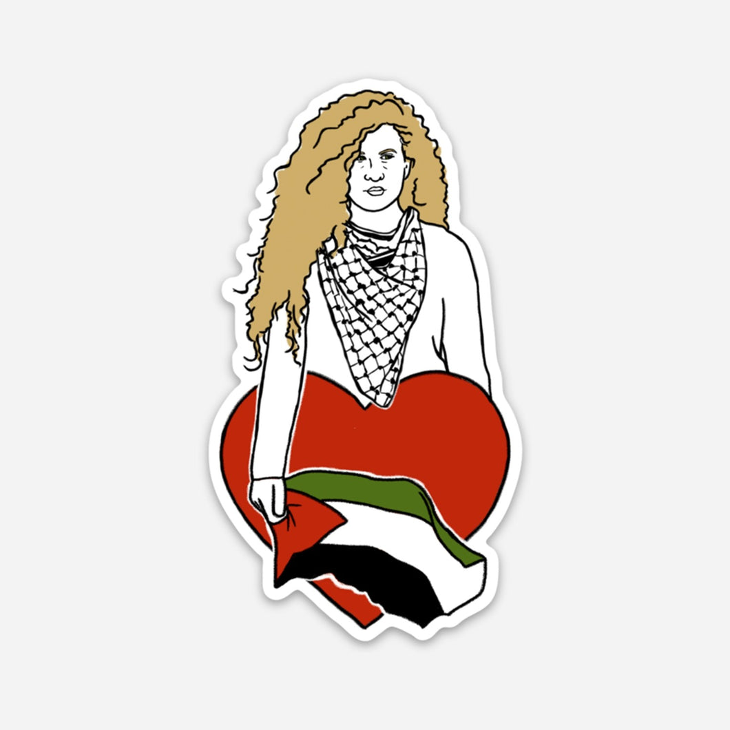 Ahed Tamimi Sticker